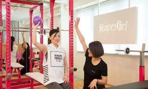 レッスン時、トレーナーはジャージでを着ません。熊本の女性専用パーソナルトレーニングジムでダイエット、ボディメイク